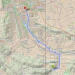 Longboardstrecke von Hildesheim nach Detfurth