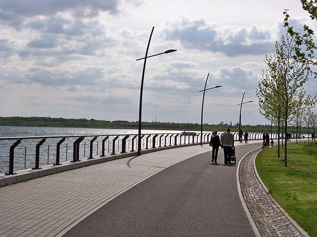 Markkleeberger See, Leipzig - Longboard Strecke