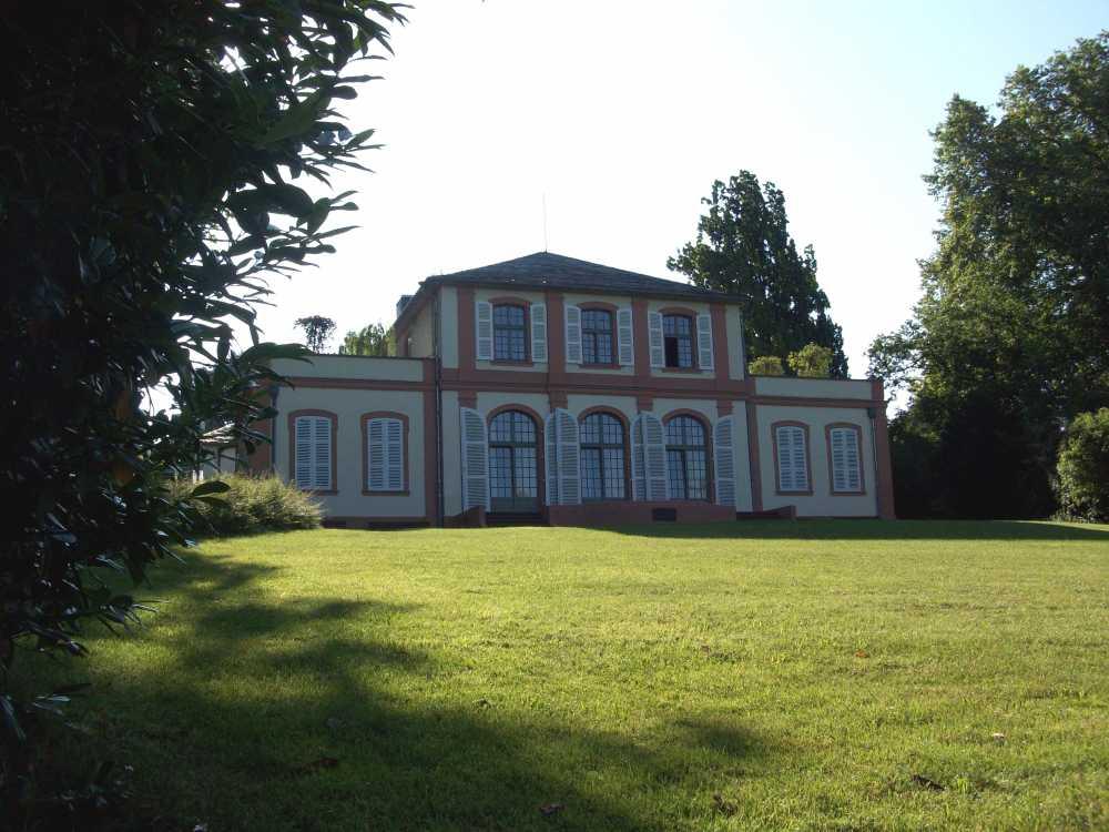 Prinz-Emil-Palais in Darmstadt, Streckenstart