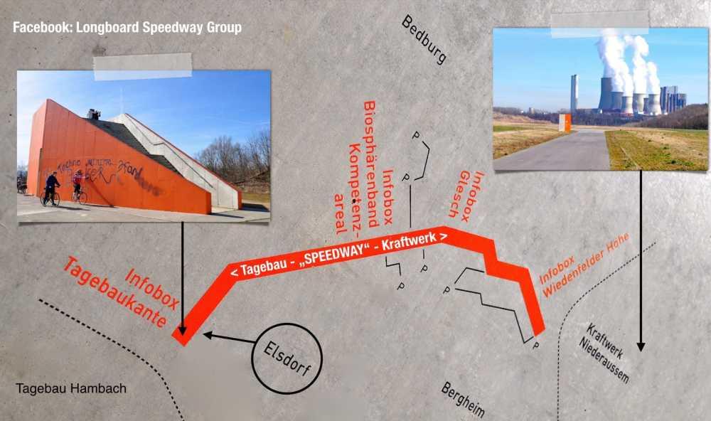 Longboard Strecke in Köln: Terra Nova Speedway