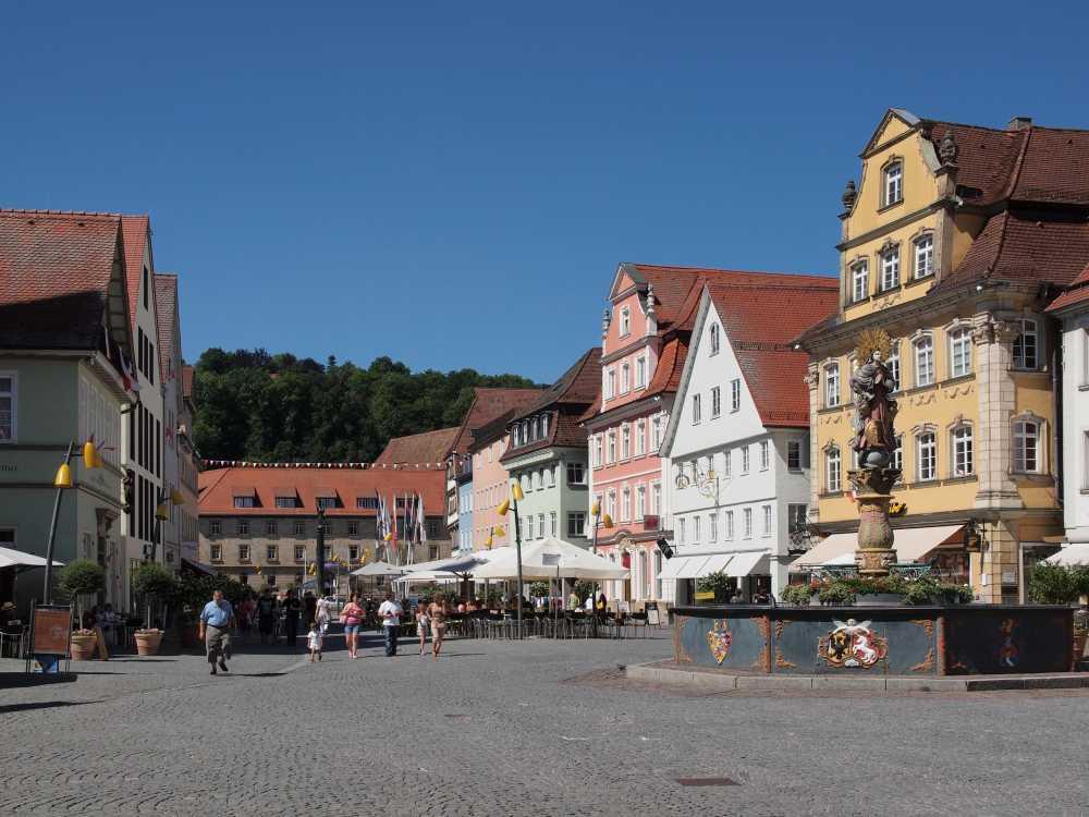 Longboard Strecke Schwäbisch Gmünd: Marktplatz