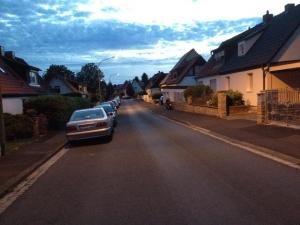 Gartenstadt Longboard Cruising