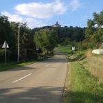 Downhill unterm Schloss